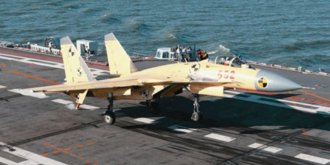 China denies reports of pilots killed in J-15 tests