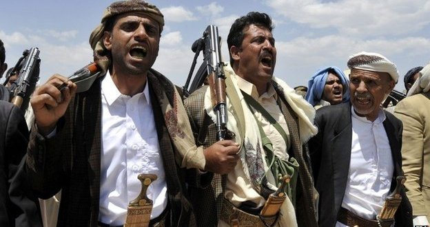 Yemen president dismisses government to end stand-off