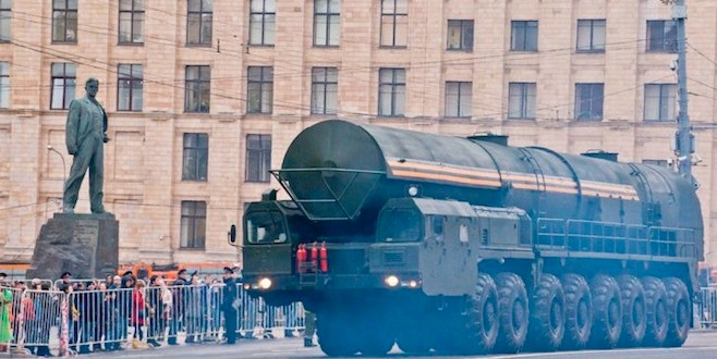 Russian General Calls for Preemptive Nuclear Strike Doctrine Against NATO