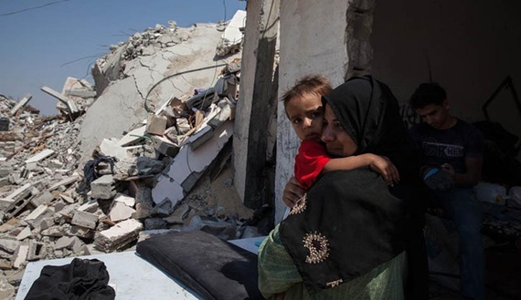 Haunted by war, Gaza residents try to rebuild