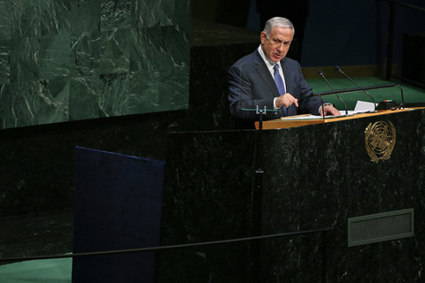 Netanyahu Links Hamas With ISIS, and Equates ISIS With Iran