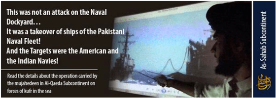 Al Qaeda in the Indian Subcontinent claims attacks on Pakistani ships were more audacious than reported