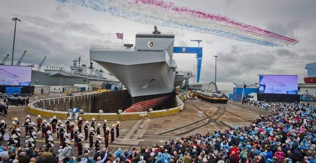 Cameron: UK Will Operate 2 Aircraft Carriers