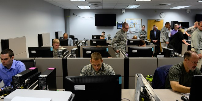 Airmen train for 'new wild, wild west' in cyber domain