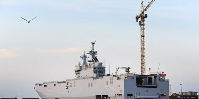 France Denies That It's Ready to Deliver Warship to Russia