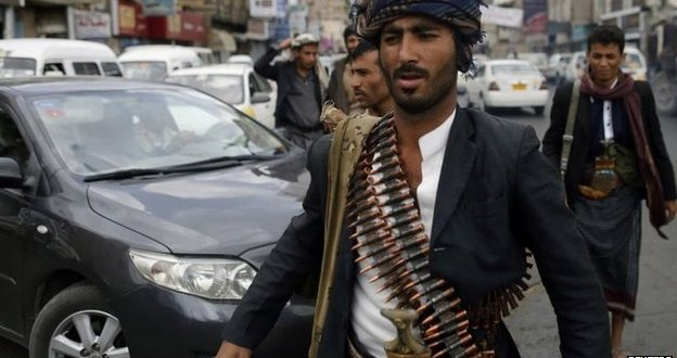 Shia Houthi rebels and al-Qaeda clash in south Yemen
