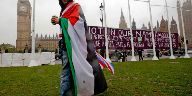 A Symbolic Vote in Britain Recognizes a Palestinian State