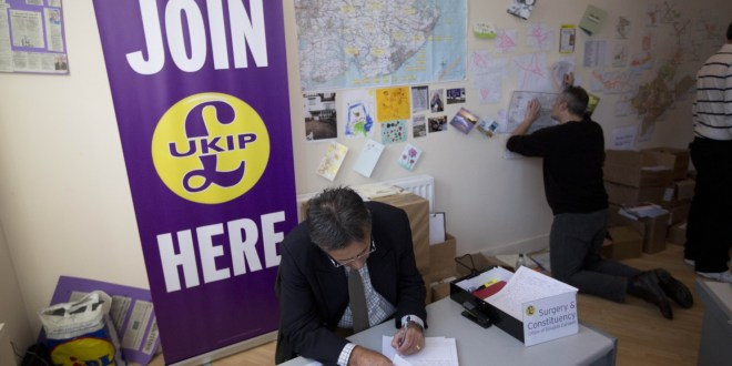 U.K. Independence Party poised to win first parliamentary seat in Britain