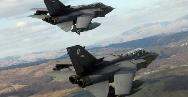 To Boost Strike Force, UK Delays Retiring Jets