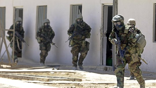Investigating Abandoned Chemical Weapons in Iraq