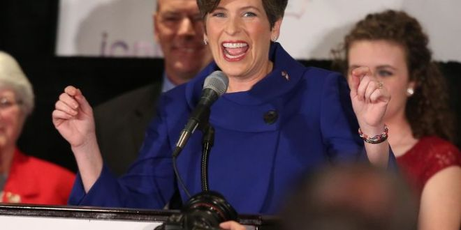 Joni Ernst wins Iowa U.S. Senate seat