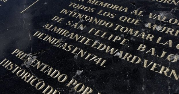 Colombia seeks to remove plaque unveiled by Prince Charles