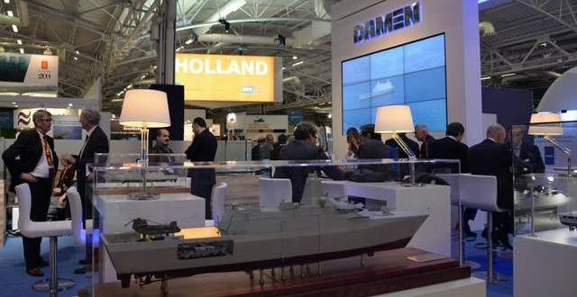 With Purchase of French Shipyards, Damen Finally Shows Its Wares at Euronaval