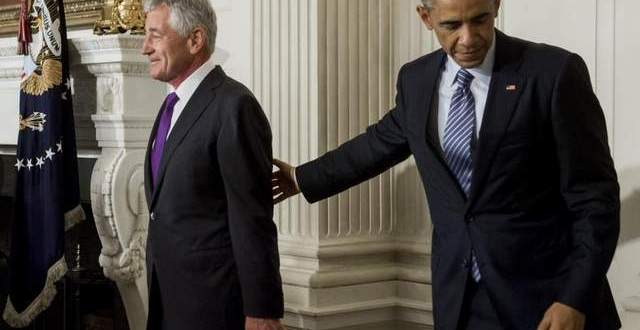 Hagel's Dismissal Underscores White House Trust Deficit, Lawmakers Say