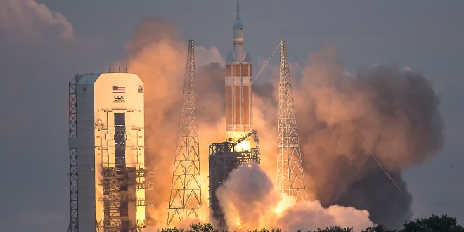 45th Space Wing supports NASA's Orion EFT-1 mission atop Delta IV Heavy