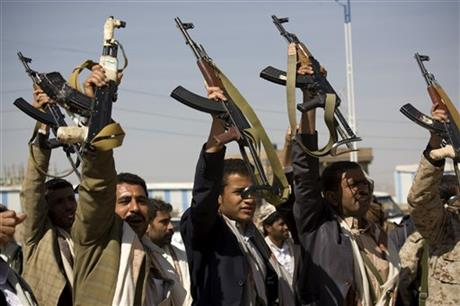Yemeni troops battle Shiite rebels in Yemeni capital