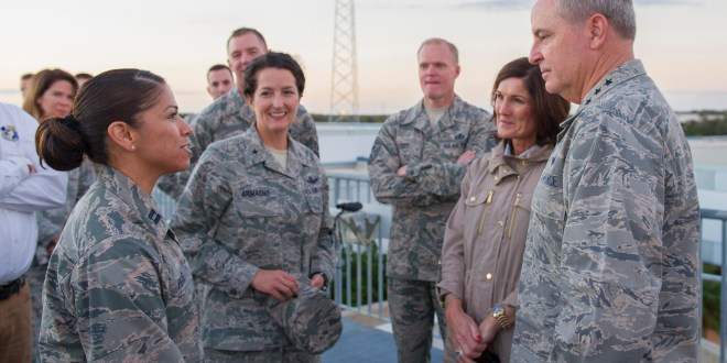 CSAF and CMSAF visit Cape