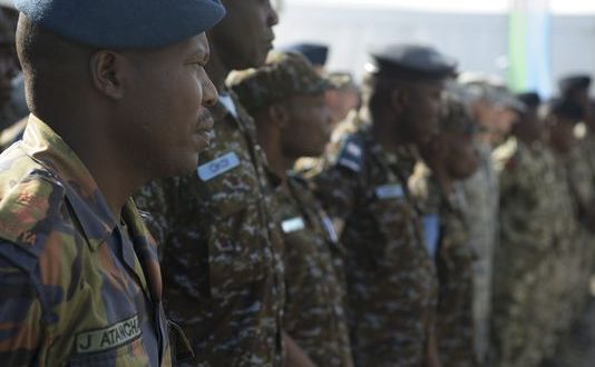 U.S. airmen train with African air forces