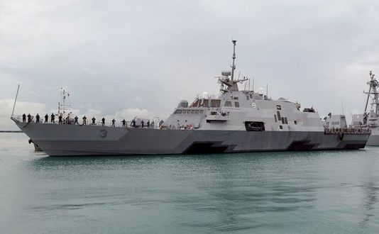 US Navy: 4 LCSs to Operate Out of Singapore by 2018