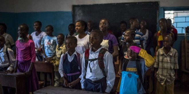 Back to School, Though Not Back to Normal, in a Liberia Still Fearful of Ebola