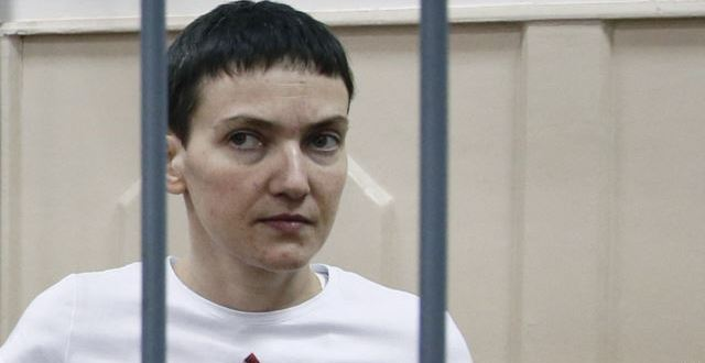 Poroshenko Awards Savchenko Highest National Honor