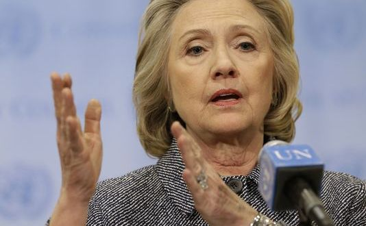 AP sues State Dept., seeking access to Clinton records