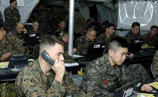 South Korea, US To Start Amphibious Drill
