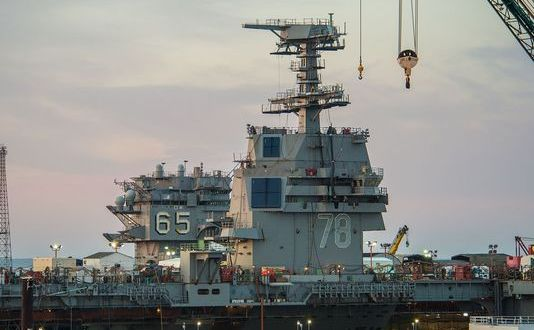 New US Carrier Radar Enters the Picture