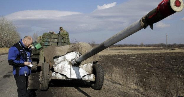 Ukraine crisis: OSCE monitors 'to be sent to truce violation areas'