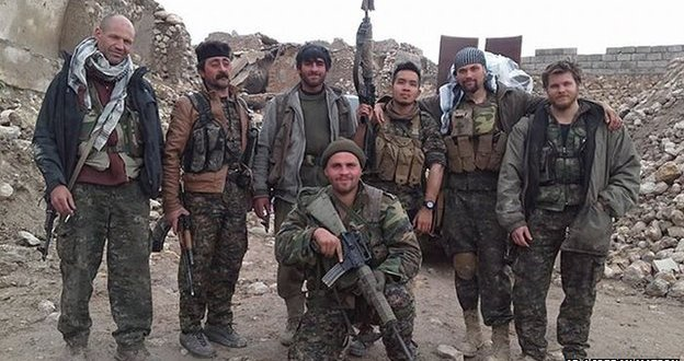 Syria death reported of ex-British marine fighting alongside Kurds