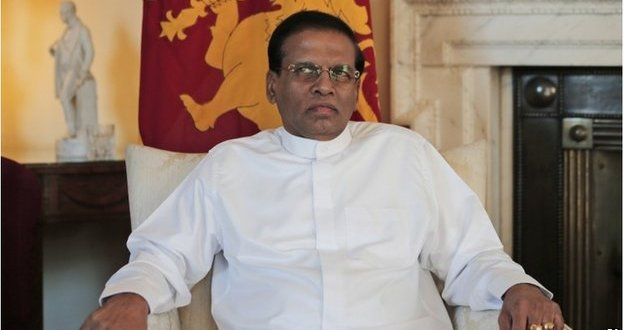 Sri Lanka president Sirisena pledges war crimes inquiry