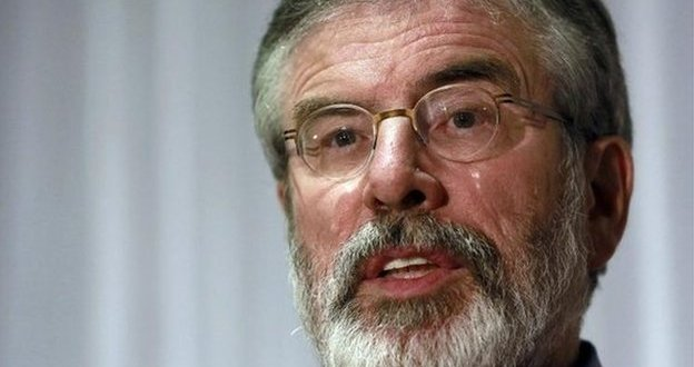 US State Department official to meet Gerry Adams