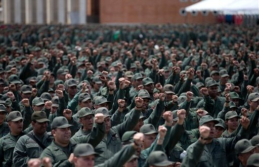 Venezuela conducts military exercises, claiming US threat