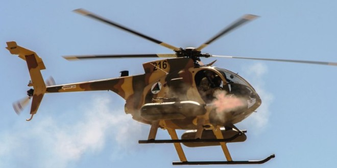 Afghanistan rolls out armed MD 530F helos
