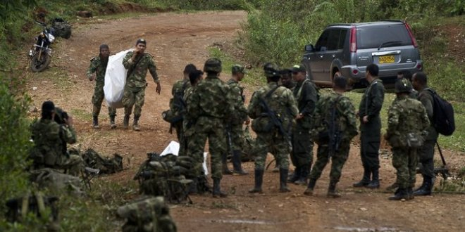 Killing of 10 Soldiers Deals a Setback to Colombian Peace Talks with FARC Rebels