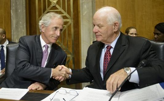Thrust Into Iran Bill Talks, Cardin Delivers