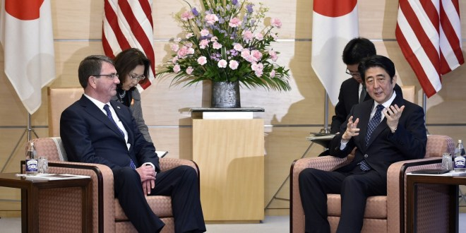 Revised defense rules would give Japan new powers to aid U.S. military