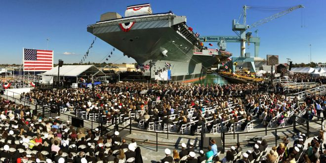 Aircraft Carrier $370 Million Over Congressional Cost Cap