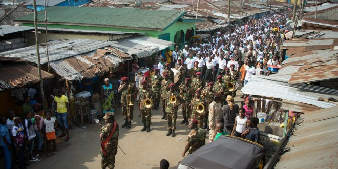 Liberia's Military Tries to Remedy Tension Over Ebola Quarantine
