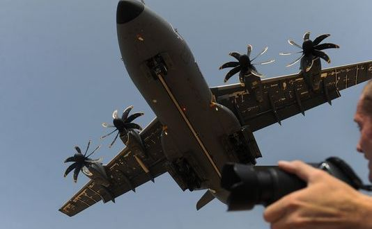 France Flying A400M in 'Essential Operations'