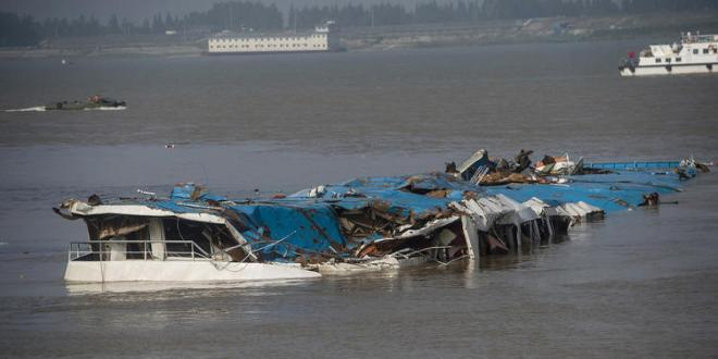 Chinese ship captain says he tried to 'go with the wind' during storm