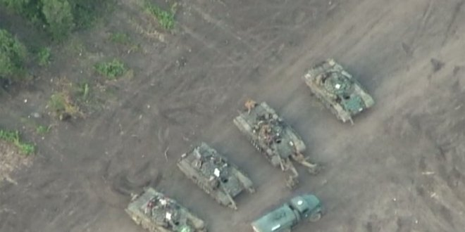 Drones Find Russian Base Inside Ukraine