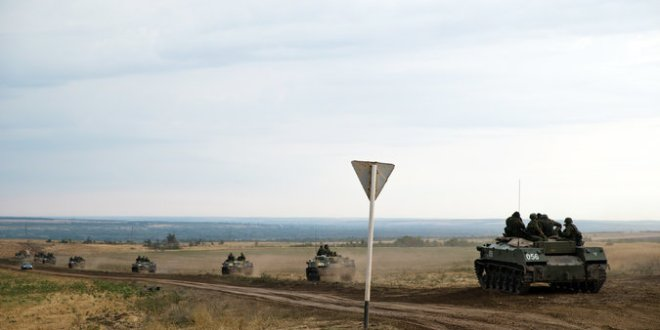 Russian Town Near Ukraine, Once Quiet, Now Buzzes With Military Activity