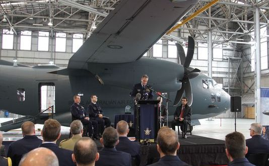 First C-27J Spartan Delivered to Australia