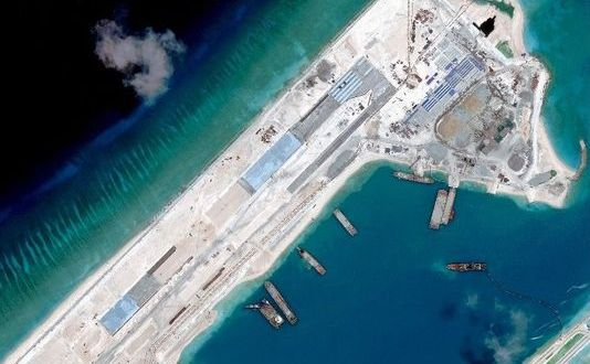 China Conducts Live Firing Drill In Disputed South China Sea