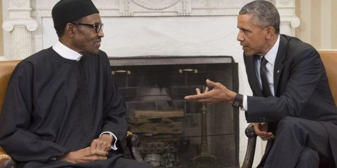 Nigeria's Muhammadu Buhari: US 'aided' Boko Haram with arms ban