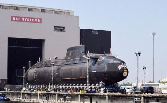 BAE kicks off major nuclear submarine yard upgrade