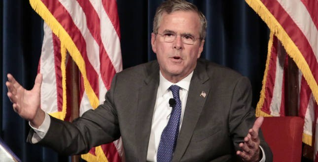 Jeb: 'We ought to end sequestration for the military' | TheHill