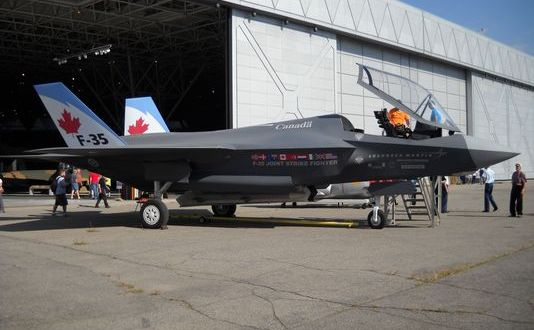 Election Will Determine F-35's Future in Canada