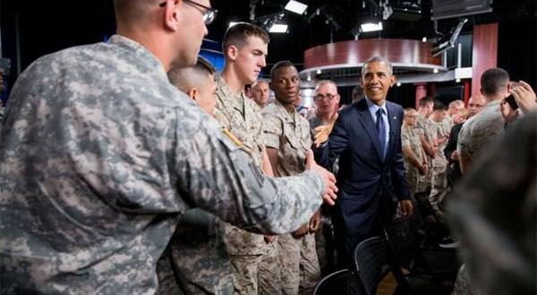 Obama Tells Troops They Inspired Him During Times of Crisis | Military.com